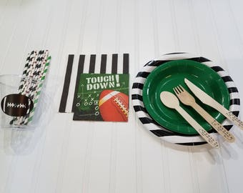 Football party serving kit