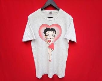"vintage Betty Boop 90""s medium t shirt"