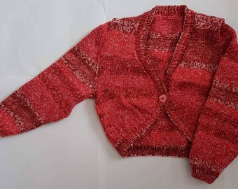 Knitted Baby Clothes, Baby Bolero, Baby Clothes, Baby Gift, Baby Girls Clothes, Baby Shower
