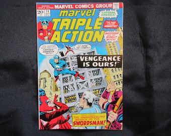 Marvel Triple Action #14 Marvel Comics 1973