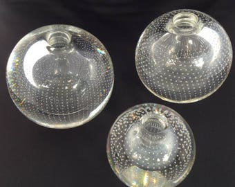 A.d. Copier | 3 Nail bulbs | Middle 20th century | Leerdam