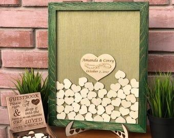 Wedding Guest Book Alternative Drop Box Wedding Box Wishes