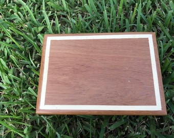 Teak Craft Box