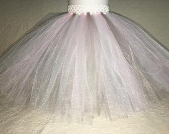 Soft Pink & Grey Tutu