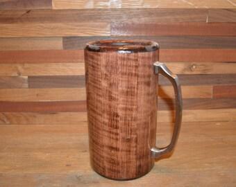 Wood Mug Curly Maple