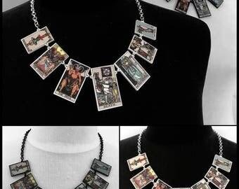 Tarot Necklace - Colour