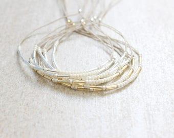 Custom Name Bracelet, Friendship Bracelet, Personalized Bracelet, Adjustable Bracelet with Name, CHOOSE Your COLOR, Best Friend Gift