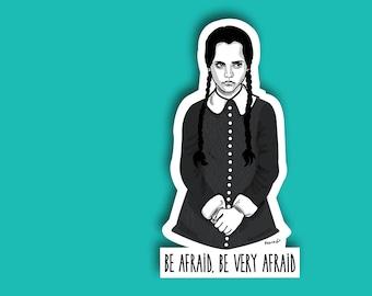 Sticker // Wednesday Addams