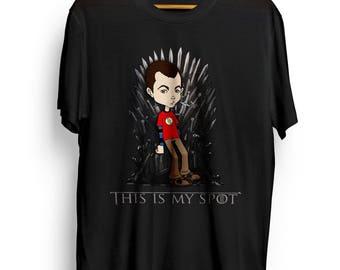 Sheldon Cooper VS Game of Thrones - Men's T-shirt I Tee