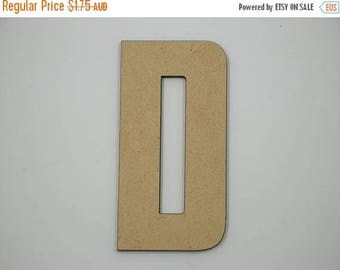 20% OFF 7.5cm MDF Wood Wooden Letters 3mm Thick CAP