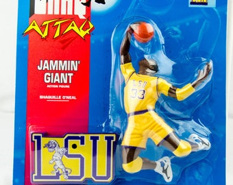 Shaq Attaq Shaquille O'Neal Jammin Giant LSU Action Figure