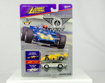 Johnny Lightning Indianapolis 500 Champions 1974 Johnny Rutherford 1/64 Diecast