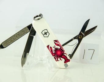Super Rare Limited Edition Crab Victorinox Classic SD Swiss Army Knife
