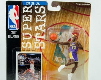 NBA Super Stars Court Collection 98/99 Dennis Rodman Action Figure L.A. Lakers