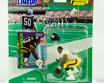 Starting Lineup NFL 1999 Dermontti Dawson Action Figure Pittsburgh Steelers