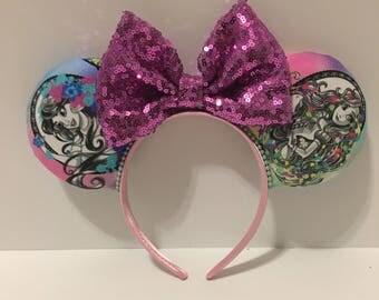 Princess Minnie Ears - Disney Princess Ears - Disney Princess Inspired Ears - Princess Mickey Ears - Disney Princess Headband