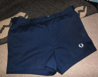 vintage fred perry short shorts 1970s