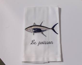 Kitchen towel (fish design)