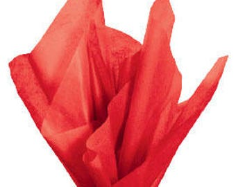 360 Sheets Red Tissue Paper 20 x 30 Inches
