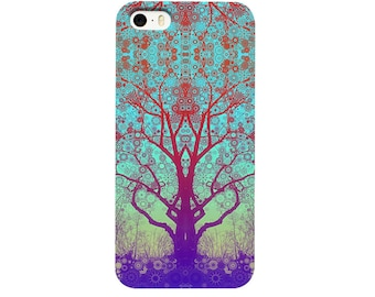 Red Star Trip Tree Phone Case - iPhone 6 Plus Case - iPhone 6 case - iPhone 5 Case Samsung Galaxy S3 S4 S5 S7