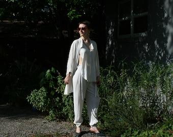 Linen 2pc Pant Suit