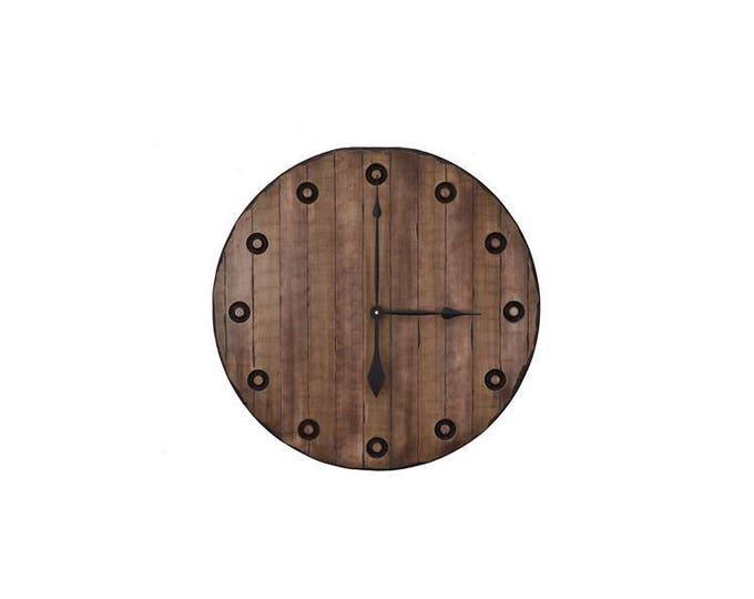 "24"" Beer Barrel Wall Clock"