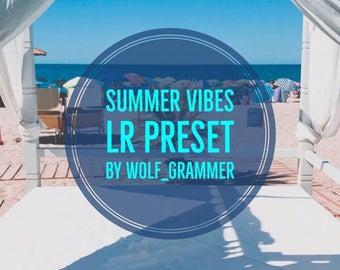"Lightroom Preset ""Summer Vibes preset"" by wolf_grammer"