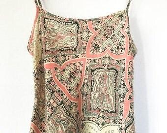 ON SALE Vintage Bohemian Maxi Dress, Sundress, Size 4 Size 6, Size Small