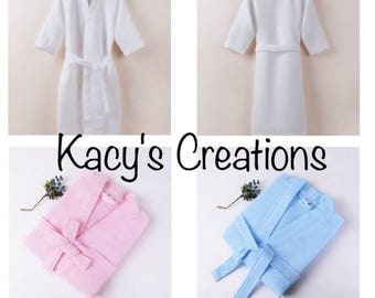 Customized Robes