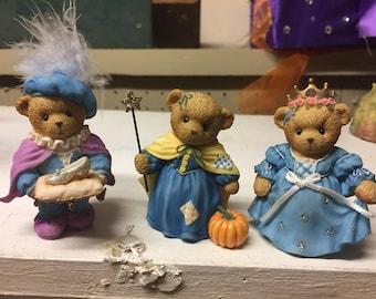 Cherished Teddies Cinderella Collection