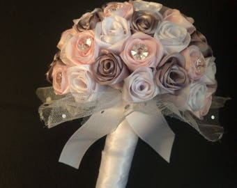 Satin bouquets many colours available