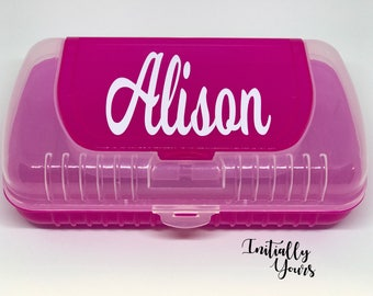 Personalized Kids Pencil Box