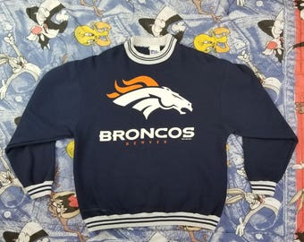 90s Pro Player Denver Broncos Vintage Sweatshirt Size Large