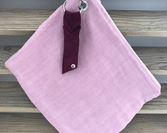 Pretty Pink Large Purse