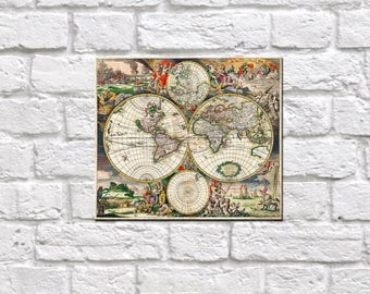 Wooden World Map Wall Art wood world map | etsy