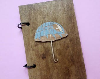 Star Wars wooden notebook A6 | star wars journal | darth vader notebook | star wars stationery | star wars diary | star wars notebooks |