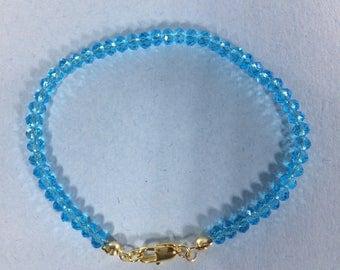 SALE 30% Apatite Bracelet, Apatite Gemstone Bracelet , gemstone Bracelet ,   ,     March Birthstone bracelet