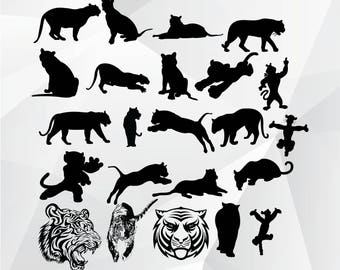 Tiger svg,png,jpg/Tiger clipart for Print,Design,Silhouette,Cricut and any more