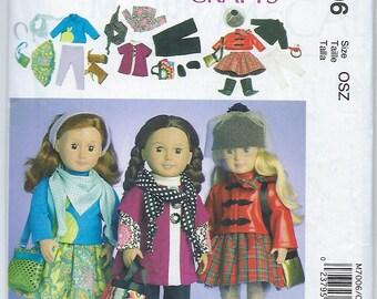"""McCalls 7006 - 18"""" Doll Clothes"""