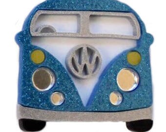 Day Tripper Brooch - Blue