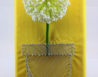 Flower Pot String Art