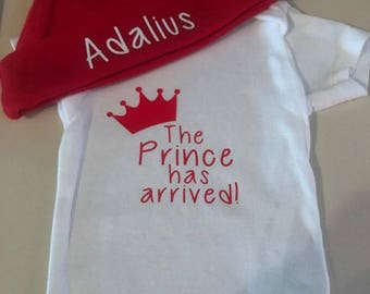 The Prince Has Arrived! Onesie