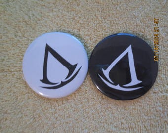 AC Pin Back Buttons