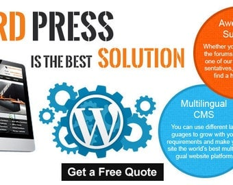 Custom Wordpress Website Design and Development