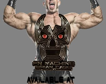The Official Brian Cage Enamel Pin
