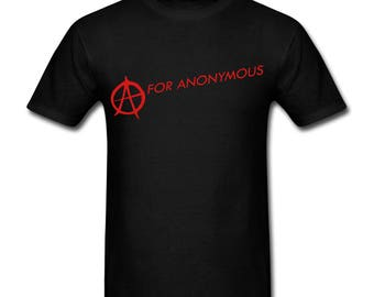 A for Anonymous Short Sleeve T-Shirt
