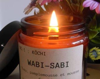 Candle Wabi-Sabi NO.1: Kochi