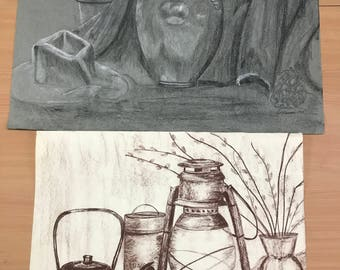 Original Charcoal Sketches