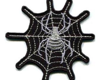 Black & White Cobweb Patch W.Ch.Patch