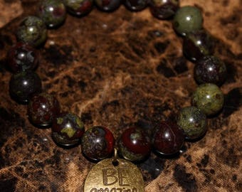 Dragon Blood Beaded Bracelet